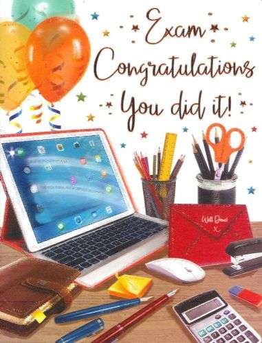 Congratulations Exam C80254
